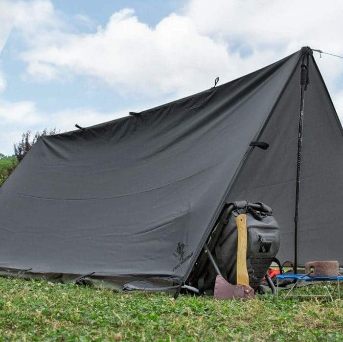 Using a Tarp for Shelter