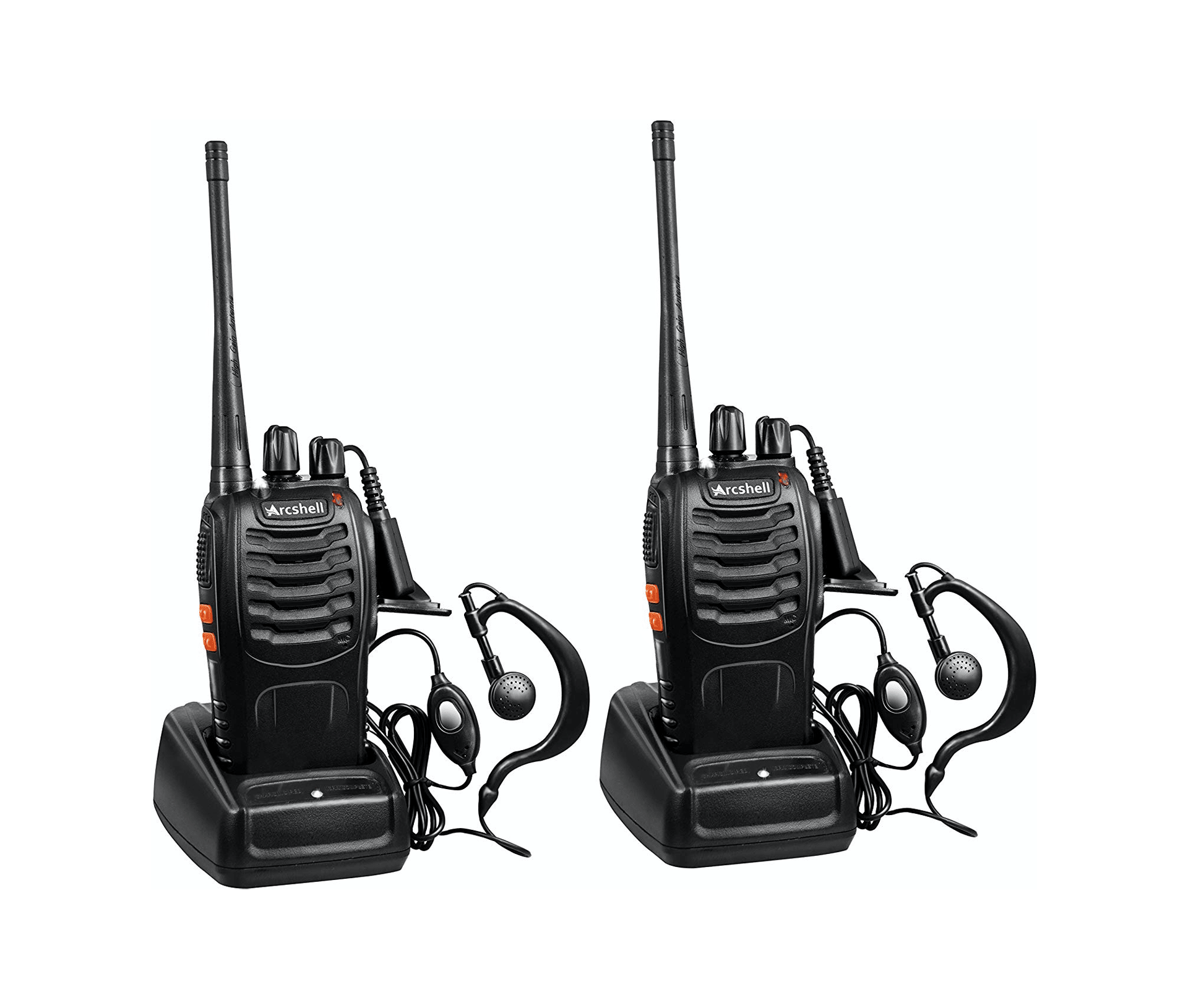 Arcshell Rechargeable Two-Way Radios