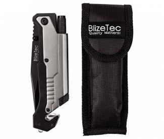 BlizeTec 5-in-1 Tactical Survival Pocket Knife