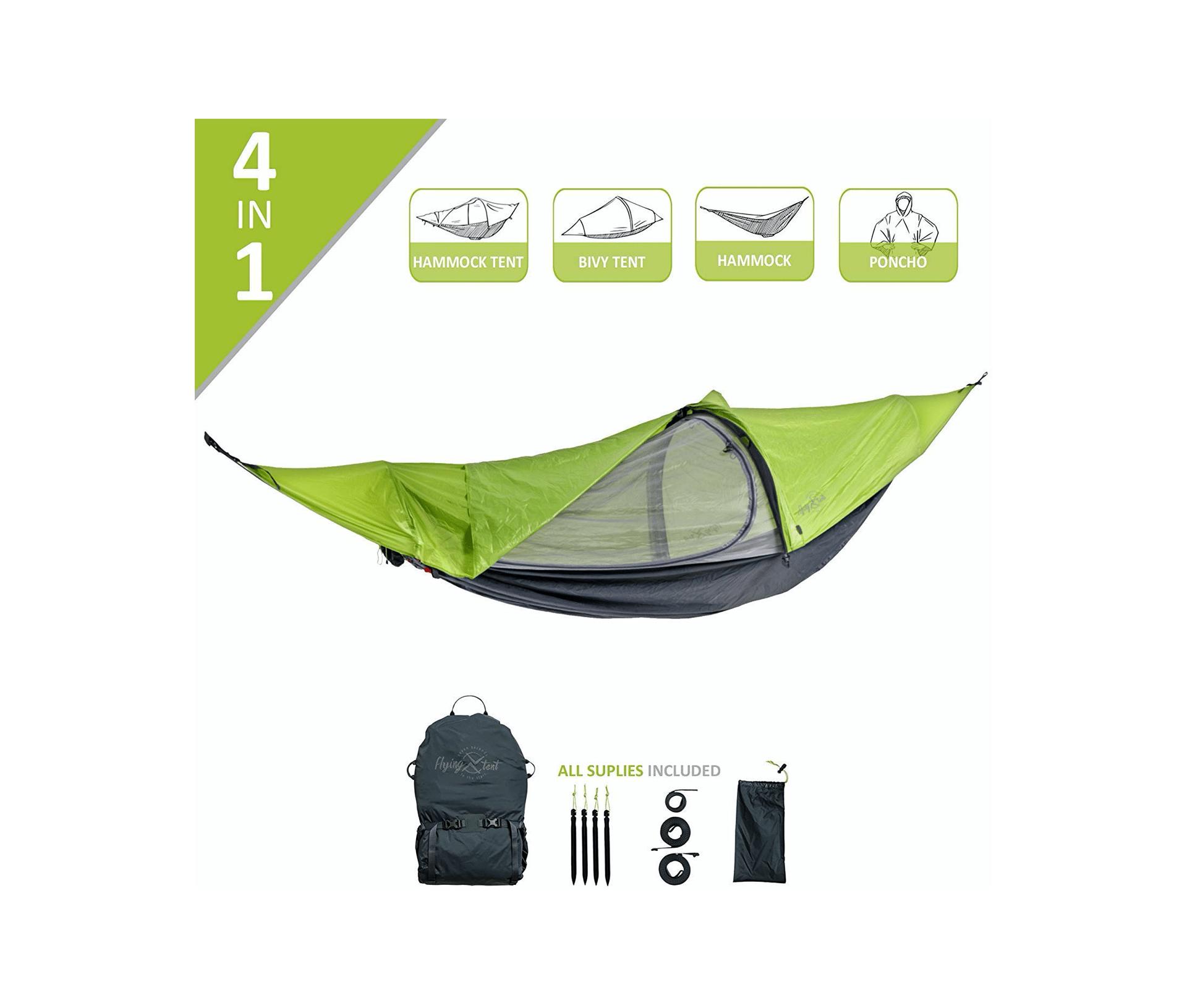 Flying Tent: Unique Hammock Tent