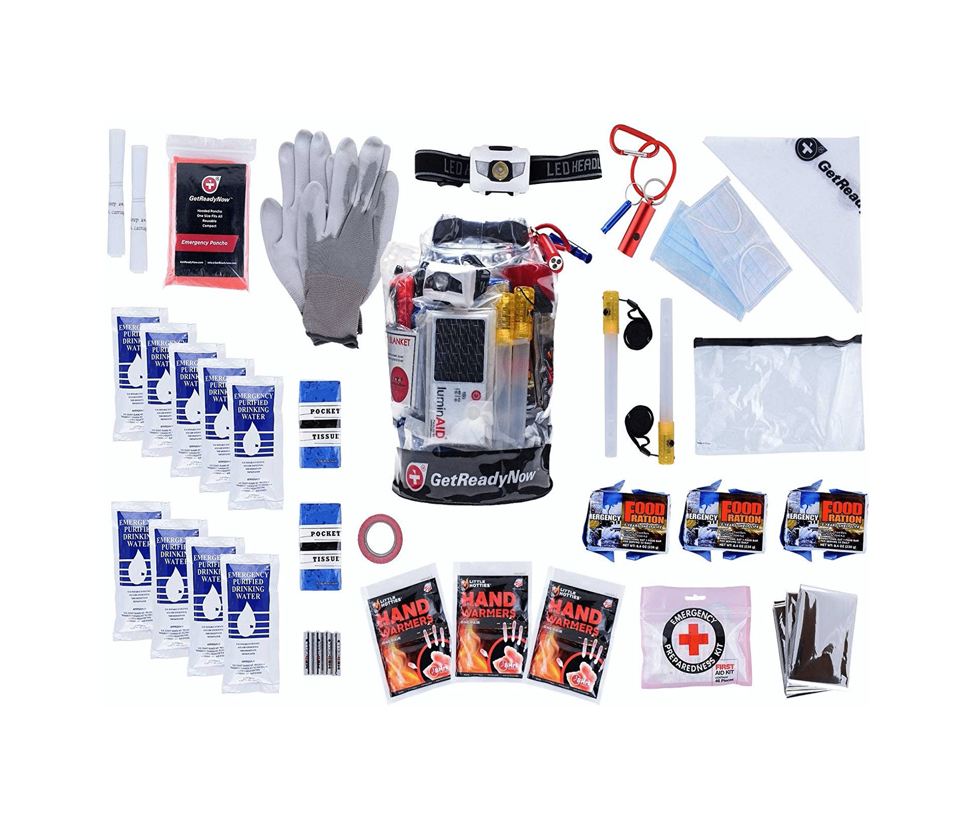 GetReadyNow Personal 72-Hour Survival Kit