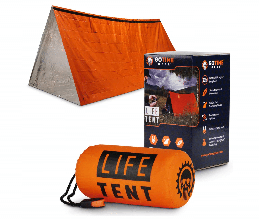 Go Time Gear Life Tent Survival Shelter