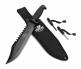 Mossy Oak 15-inch Fixed Blade Survival Knife