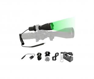 Orion H30 Green or Red Premium Predator Hunting Flashlight
