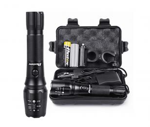 Phixton Rechargeable Tactical Flashlight