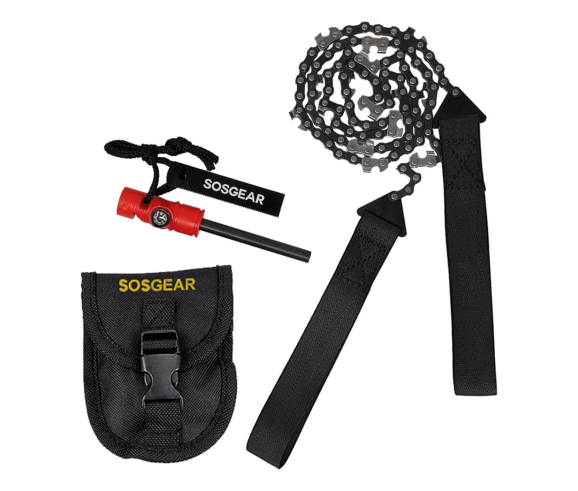 SOS Gear Pocket Chainsaw and Fire Starter