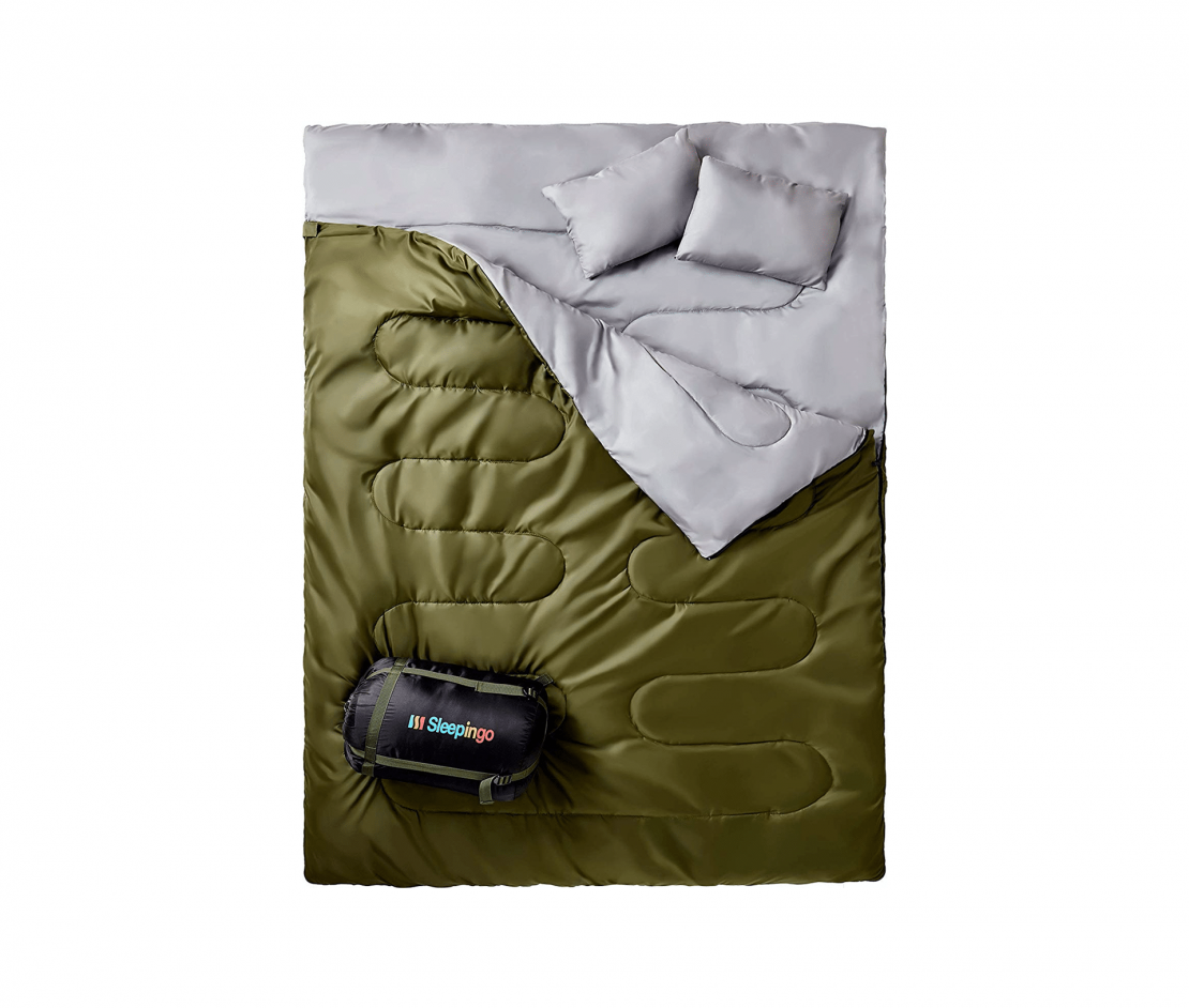 Image used in best cold weather sleeping bag review