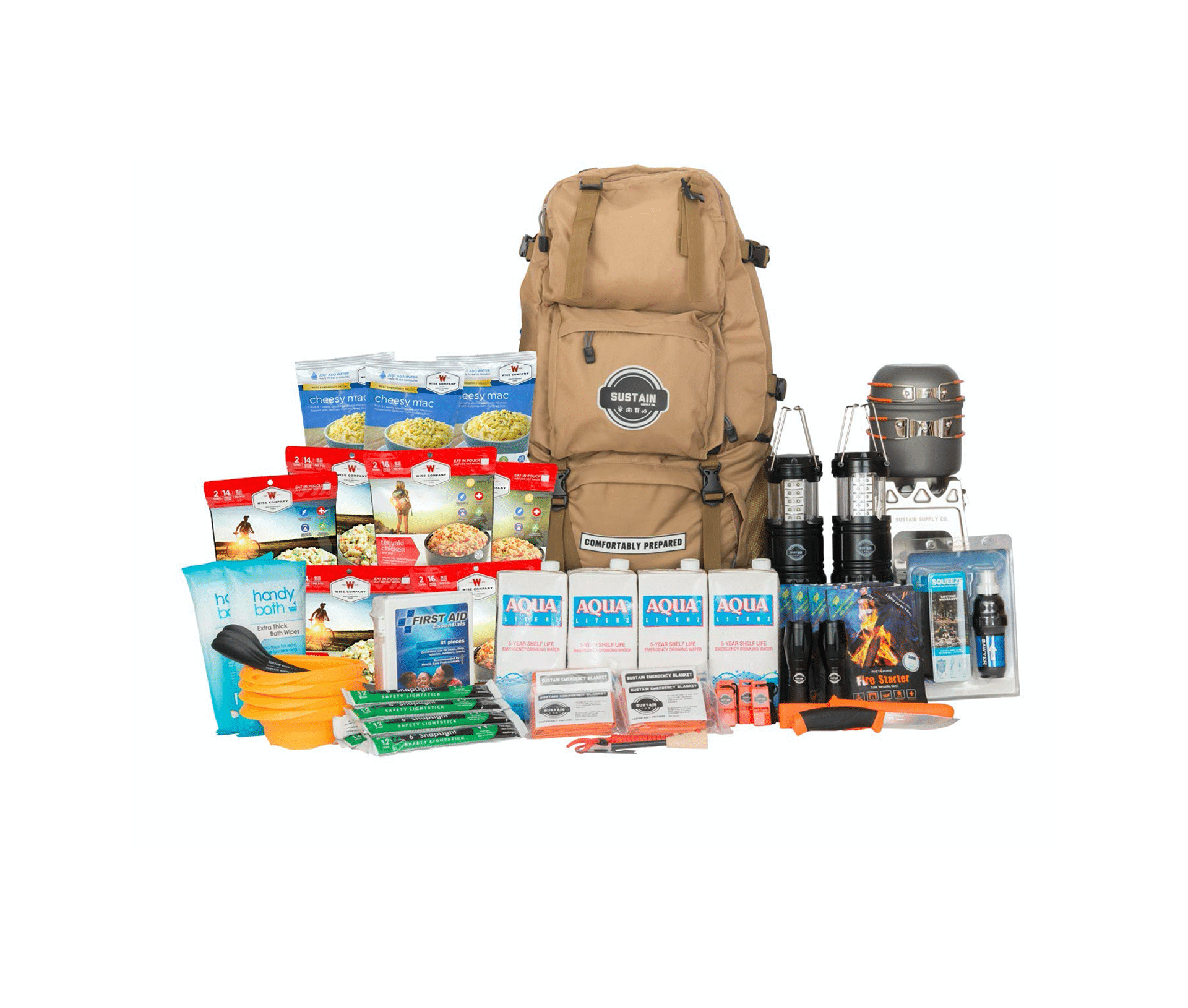 Sustain Supply Co. Emergency Survival Kit