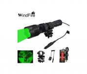 WindFire Green LED Coyote Hog Hunting Light