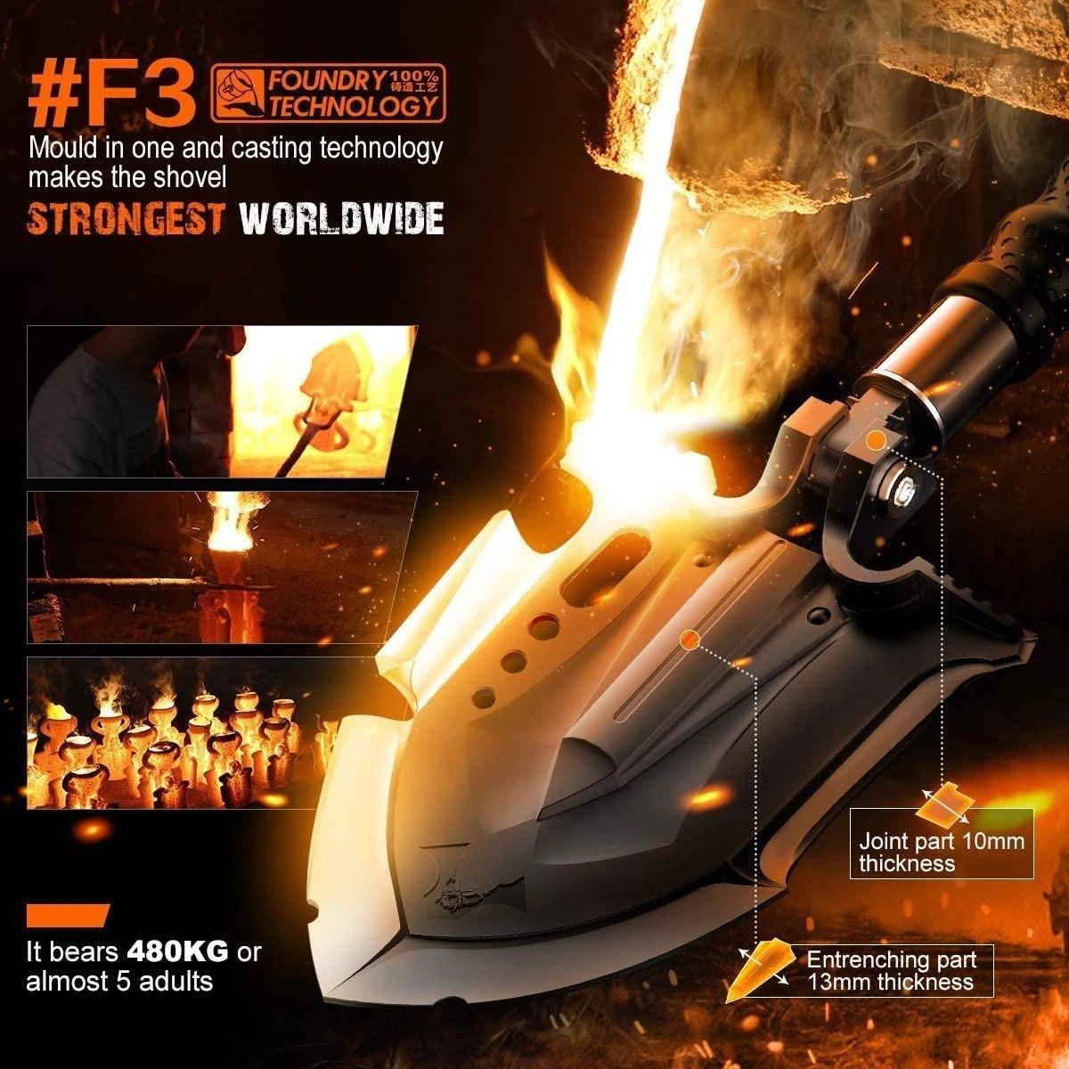 Annihilate F-A3 Survival Shovel