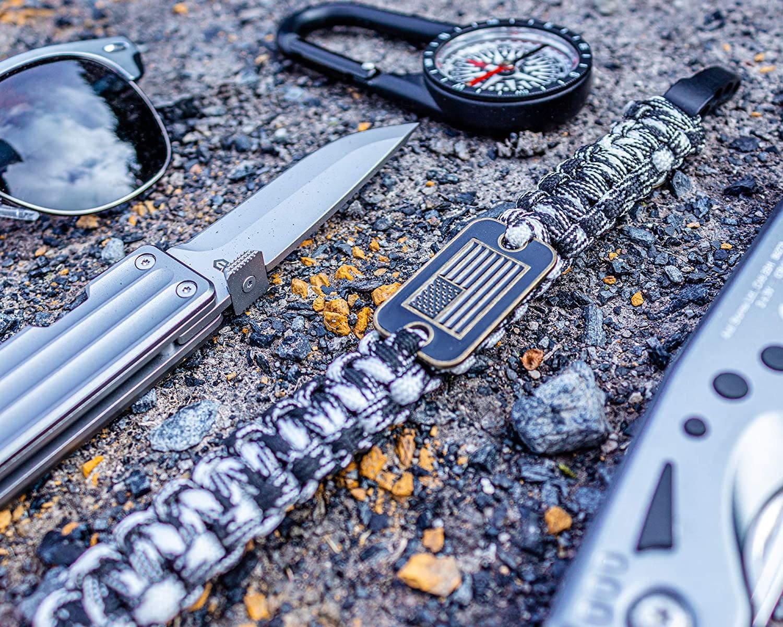 Gecko Equipment King Cobra Paracord Survival Bracelet