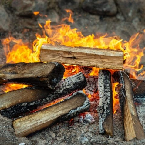 Lean-to Fire