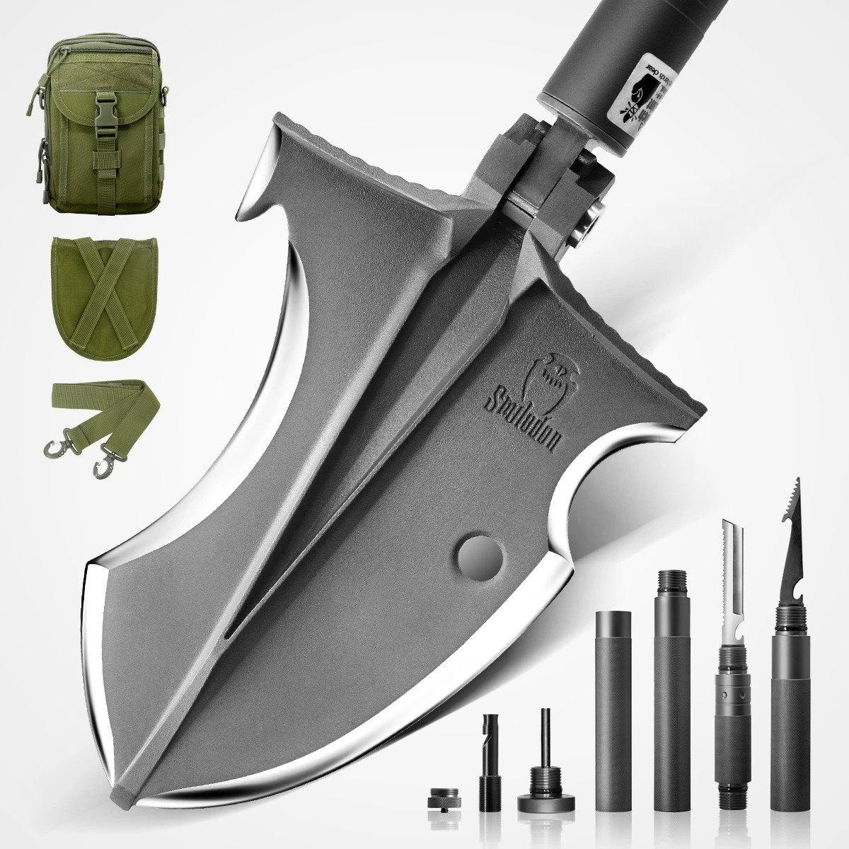 Smilodon Camper Survival Shovel